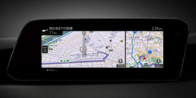 スマイルセットNo.1 【ナビゲーション用SDカードアドバンス】車両装備の専用スロットに差し込むことで地図表示やルート案内ができます。