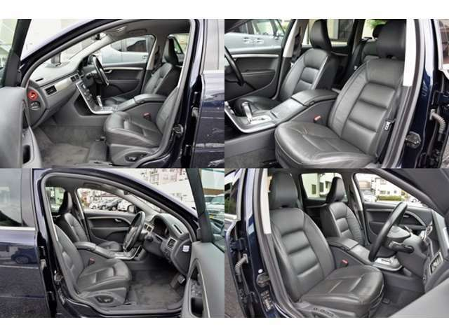 運転席、助手席、電動シートです。