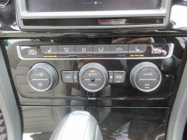 2ゾーンフルオートエアコンディショナー運転席助手席、それぞれ独立して『温度風量』の調節が可能♪