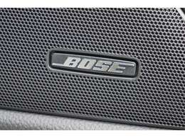★【オプション装備:BOSEサウンドシステム】車内であることを忘れさせるような広がりある音響空間!!★