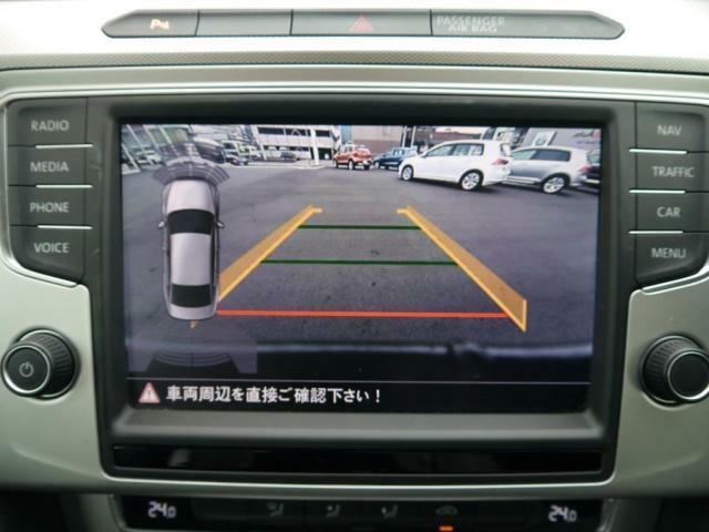 障害物センサーとリヤビューカメラで駐車も安心です。