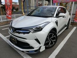 トヨタ C-HR ハイブリッド 1.8 G LED エディション 1オーナー モデリスタエアロ