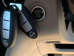 スマートキーで開閉もラクチン♪エンジンもボタン一つでかけられます!!