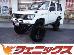 トヨタ ランドクルーザープラド 3.0 LX ディーゼルターボ 4WD 8インチリフトUP社外足廻りAWバンパー
