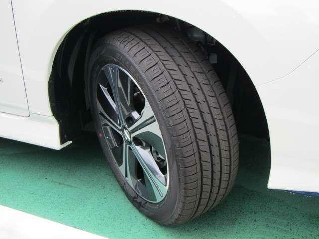 タイヤの溝もまだまだ安心です!