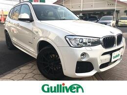 BMW X3 xドライブ20d Mスポーツ ディーゼルターボ 4WD 4WD 本革シート