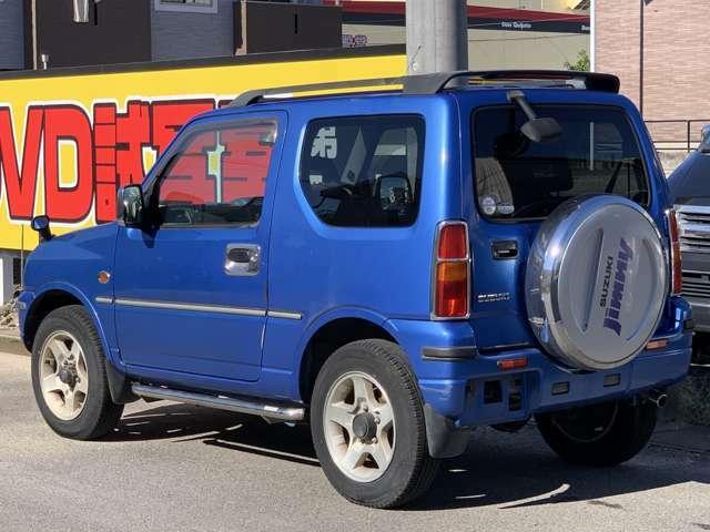 スズキ ジムニーXCです。車検取り立て!車検5年9月29日まで、ラジエーター新品交換済み、CD,アルミ、外装オプション付き、お買い得車です。