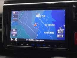 ホンダ純正9インチナビ「VXM-175VFNi」装備されています。Bluetooth・DVD再生・フルセグ・録音対応です。