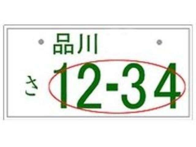 Aプラン画像:●希望ナンバープラン● ご希望の番号をご指定できます!人気の番号は抽選となります。