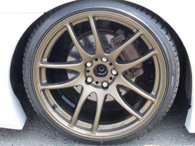 新品ワークエモーションKIWAMI19インチアルミ 社外フルタップ車高調 新品タイヤ