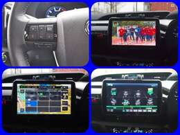パナソニック大画面ナビ フルセグTV DVD Bluetooth CD など高性能ナビ 首振りできます! 大画面で後方確認!CN-F1XVD SDナビ