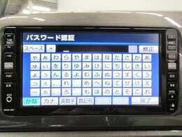 純正のHDDナビ搭載です。音楽も録音できますし、初めての場所でも安心ですね。
