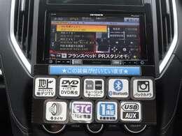 ドライブの必須装備、メモリーナビ&ETC付!フルセグTV、DVD再生も可能です!購入時から付いているとお得な装備が満載♪