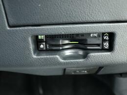 高速道路をスイスイッと通過の『ETC』付き!ETCカードをお持ちでない方は、トヨタETCカードもございますので、ご相談下さいね!