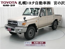 トヨタ ランドクルーザー70ピックアップ 4.0 4WD CD 4WD 寒冷地仕様 デフロック付