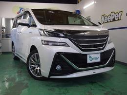 トヨタ ヴェルファイア ハイブリッド 2.5 X 4WD モデリスタエアロ サンルーフ 19AW