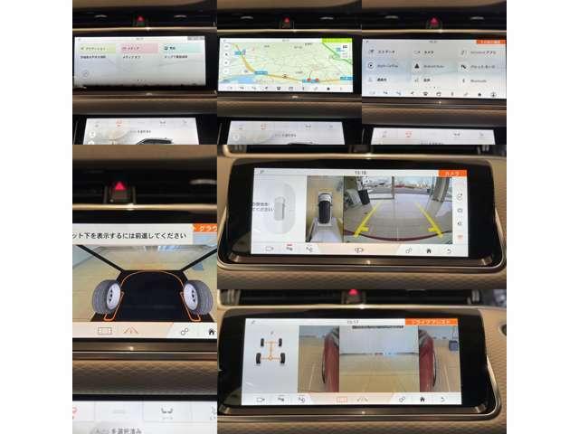 メインモニターの表示画像・ほぼすべての車両情報がご確認いただけます。