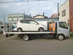■自社搬送車もございます!全道に納車いたします♪気軽にご相談ください!