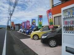 軽自動車~1BOX・ミニバン・スポーツ系まで幅広くラインナップ。掲載車輌以外にも在庫してございます!