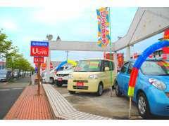 ★お買得車多数!★展示車も当社使用の展示・試乗車から、リーズナブルなお車まで多数展示しております。