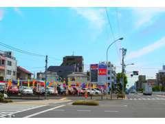 ★西葛西6丁目の交差点角にあり、とても見つけやすいお店です。★