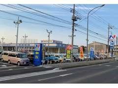 軽自動車・ミニバン・コンパクト・SUV・ハイブリッド車を中心に常時250台以上展示!