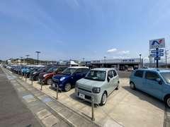 軽自動車・ミニバン・SUV・コンパクトカー総在庫150台以上!お客様のカーライフを全力でサポート致します!