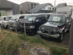4WDを中心に様々な車種がラインナップ!店頭にない車でもお探しできますので、是非ご相談下さい♪