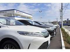 軽・コンパクト・SUV・ミニバンなど幅広く取り扱っております♪