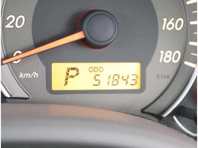 走行51843km