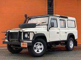 ランドローバー ディフェンダー 110S D-TB4WD フロアAT車15yモデル9人乗Gガード16AW新並