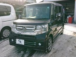 ホンダ N-BOX+ 660 カスタムG 4WD 片側Pスラ・スマキー・純正AW・HID