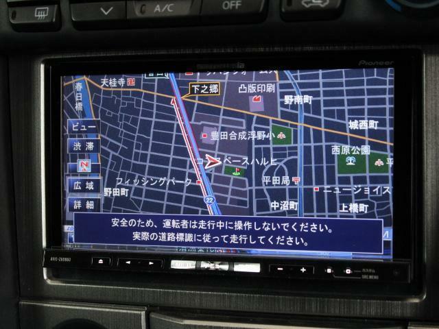 カロッツェリアHDDナビを装着!地デジも付いていますのでドライブも楽しくなりそうですね!