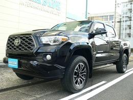 米国トヨタ タコマ ダブルキャブ TRDスポーツ 3.5 V6 4WD 6MT SR TSS-P ブラックレザー