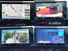 【純正ナビ】フルセグTV、バックカメラも搭載してますので、後方確認も楽々!Bluetooth接続機能もありますので、ドライブも楽しいです!