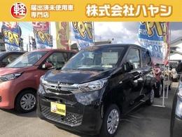 三菱 eKワゴン 660 M 届出済未使用車 両席シートヒーター付き!