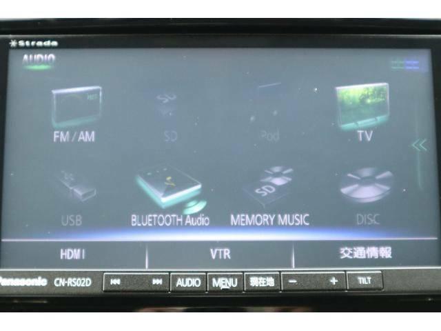 Bluetooth、フルセグ視聴可能なパナソニックメモリーナビ☆