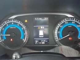 エコドライブインジケーター&燃費表示機能がついたファインビジョンメーターを採用!