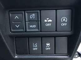 ◆車線逸脱警報機能◆走行中に左右の区画線を検知して進路を予測。前方不注意などで車線をはみ出しそうになると、ブザー音などの警報によってドライバーに注意を促します。