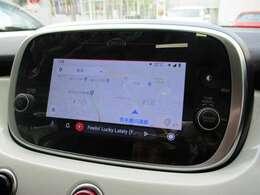 「Apple Carplay」「Android Auto」対応!スマホを接続するとマップ・ミュージック・通話など使用することができます!※画像はAndroid Auto