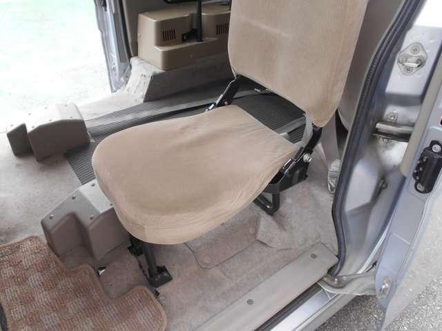 3rdシートは折り畳み式です!
