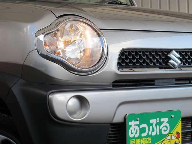 ヘッドライトはハロゲンになります!LEDやHIDへの交換で更に明るくなりますよ♪