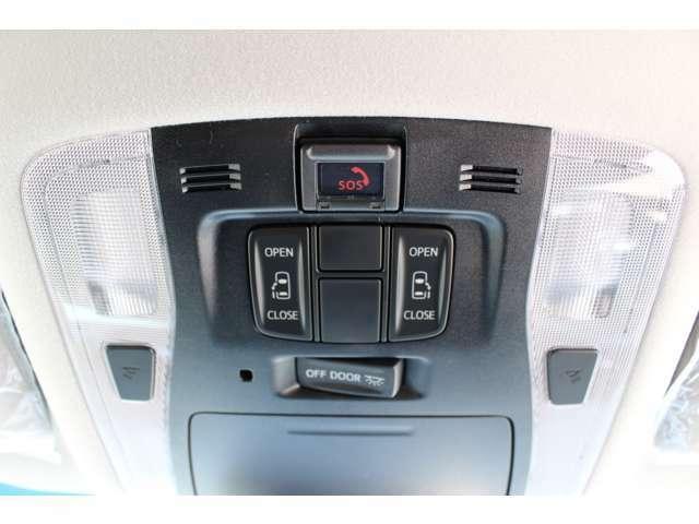 両側パワースライドドアを装備♪車内からの操作も可能です♪