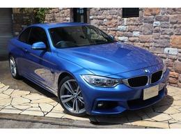 BMW 4シリーズカブリオレ 435i Mスポーツ ブラックレザー 禁煙ワンオーナー車