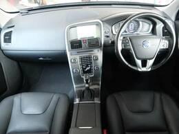 XC60のT5 SEが入庫しました!!黒本革シートで、ボルボならではの10種類以上の安全装置がついています!あなたのカーライフが楽しくなる一台です♪