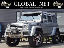 メルセデス・ベンツ Gクラス G550 4x4スクエアード 4WD ディーラー車・サンルーフ・4WD・ターボ・