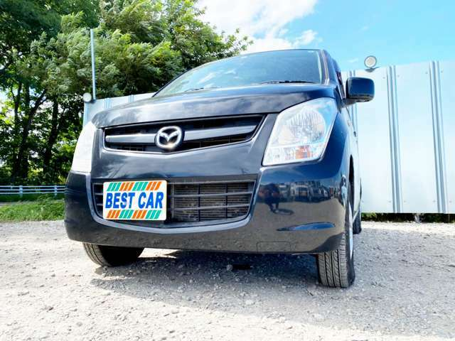 人気のブラックのAZワゴン入庫!タイミングチェーン車なので交換の心配なし!その上、8万キロなのは安心!