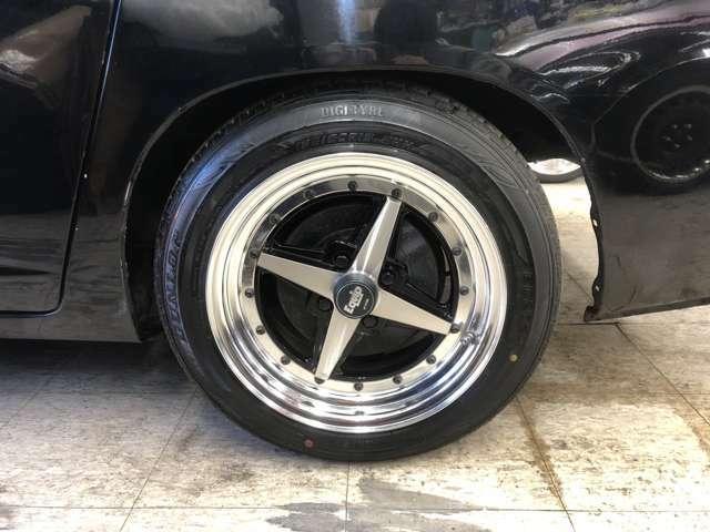 R・ワークエクイップ15インチAW(OP設定)+ダンロップ夏タイヤ・15インチ鉄チンW+スタッドレスタイヤ装着!