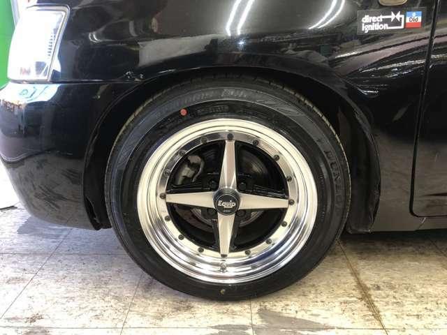 F・ワークエクイップ15インチAW(OP設定)+ダンロップ夏タイヤ・15インチ鉄チンW+スタッドレスタイヤ装着!