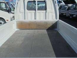 荷台木張り・三方開・内寸約246×160